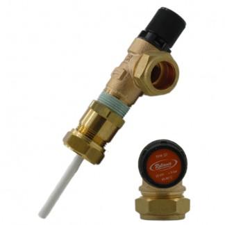 Albion - 22mm Pressure & Temperature Relief Valve 7 Bar