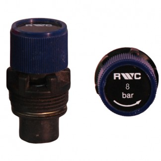 8 Bar Blue Rubber Seat Pressure Relief Expansion Cartridge 214009