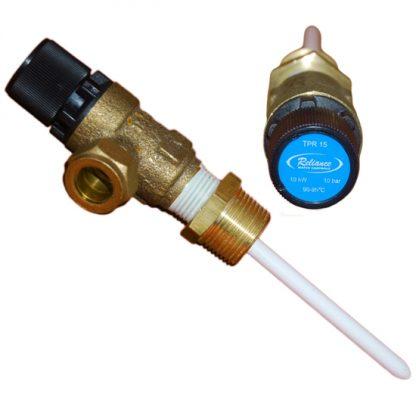 Heatrae Sadia - Temperature & Pressure Relief Valve 95605810