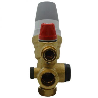 Warmflow - 22mm Inlet Control Multibloc Valve Group 3664