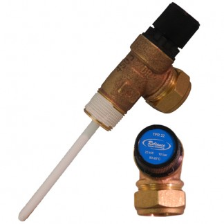 Reliance - 10 Bar TPR22 Pressure and Temperature Relief Valve 90-95°C