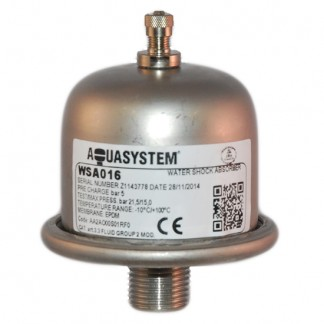Reliance - Aquasystem Water Hammer Shock Arrestor Absorber WSA016 XVES050000