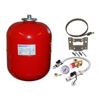 Reliance - Aquasystem 24 Litre Heating Expansion Vessel & Sealed System Kit VESK209053