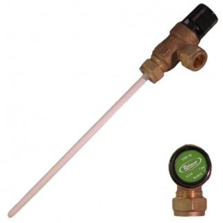 Heatrae Sadia - 7 Bar 15mm x 15mm Pressure & Temperature Relief