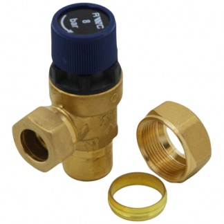 OSO - 8 Bar Pressure Relief Expansion Valve 510505