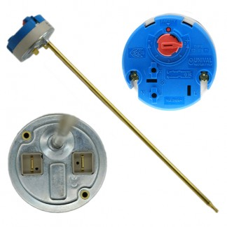 """Unival - 11"""" Rod Combined Thermostat & Cut Out 16A 250V Type RT-WH 344"""