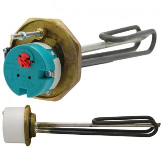 """Thermco - 1 3/4"""" 3kW Immersion Heater 11"""" for Unvented Cylinders"""