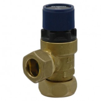 6 Bar Offset Nut Metal Expansion Pressure Relief Valve 95607030