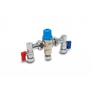 22mm 4in1 Thermostatic Mixing Valve TMV2/3