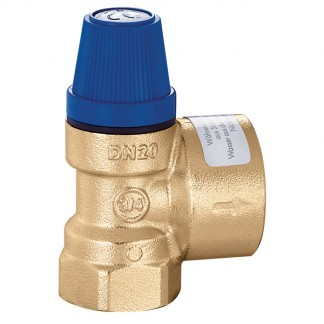 """Caleffi 531410 10 Bar Safety relief valve. Female connections 1/2"""" - 3/4"""""""